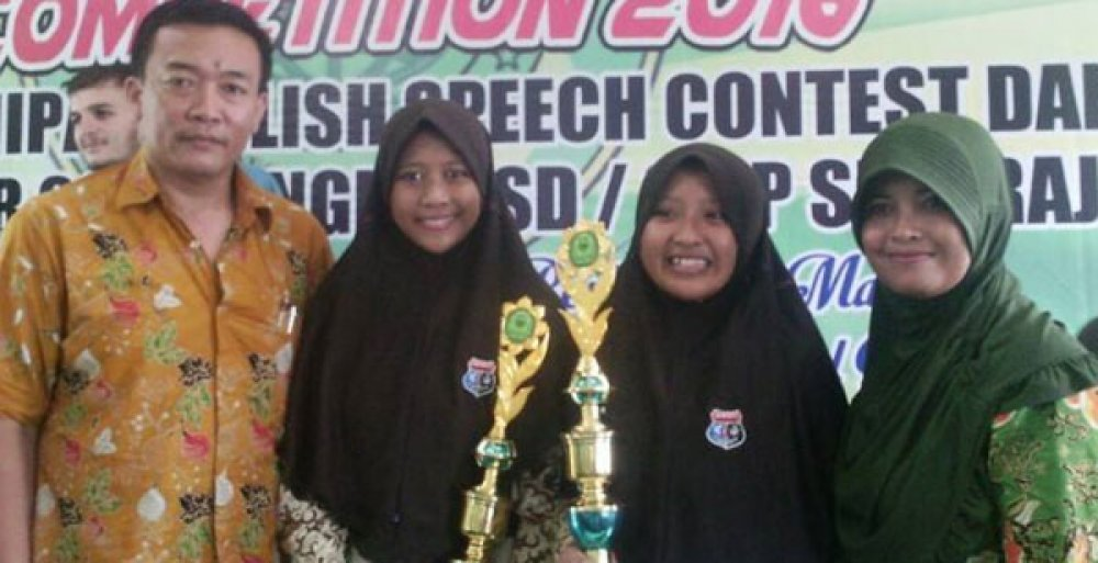 Speech Contest? Spensabo Juaranya