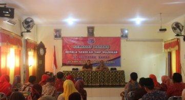 Kunjungan Paguyuban Kapala Sekolah Se-Sumatra Barat