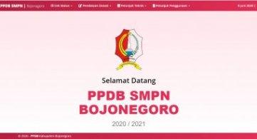 Info Hari ini terkait PPDB SMPN 1 Bojonegoro