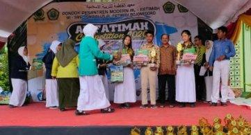 Juara 1 Lomba Matematika HOTS Tingkat SMP/MTS Kab. Bojonegoro