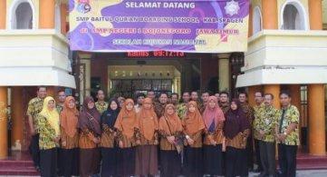 Study Banding SMP Baitul Qur'an Boarding School ke SMPN 1 Bojonegoro