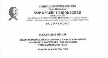 Sosialisasi & Informasi Awal Pembelajaran (SIAP) 2020/2021