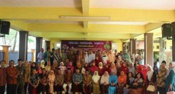 Halal bi halal Keluarga Besar SMPN 1 Bojonegoro tahun 2018