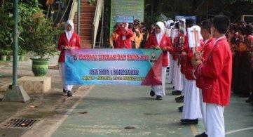 Festival Literasi dan Sains SMP Negeri 1 Bojonegoro