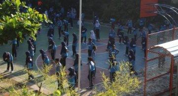 Hari Pertama Kegiatan Ujian Praktek SMP Negeri 1 Bojonegoro