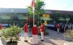 Upacara HUT Kemerdekaan RI Ke 73 SMP Negeri 1 Bojonegoro