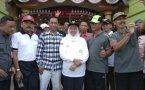 Gubernur Jawa Timur Pinarak di SMP Negeri 1 Bojonegoro