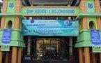 Sosialisasi Keselamatan Jalan BPTD Wilayah XI Provinsi Jawa Timur Bersama Dinas Perhubungan Kabupaten Bojonegoro di SMPN 1 Bojonegoro