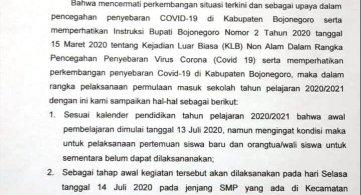 Informasi Masuk Awal Tahun Pelajaran 2020 / 2021