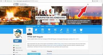 Situs PPDB online Bojonegoro 2018-2019